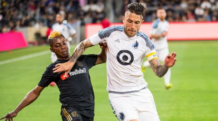 Calvo fue pieza fundamental en defensiva para el empate en Salt Lake City