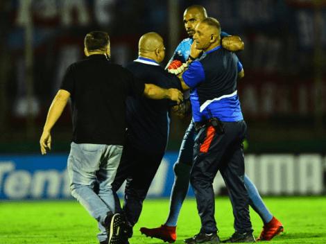 Sanción confirmada para Mejía tras su pelea en el clásico uruguayo