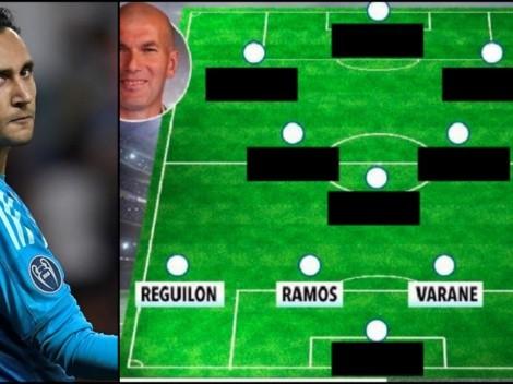 ¡De escándalo! The Sun armó un equipazo de Real Madrid la próxima temporada...y no está Keylor Navas .