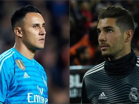 Keylor Navas habló sin reservas sobre Luca Zidane