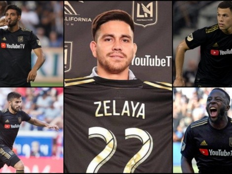 Fito Zelaya la tiene difícil en LAFC