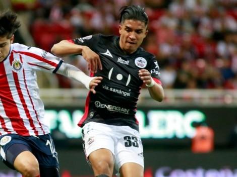 Michaell Chirinos, entre los mejores del fútbol mexicano