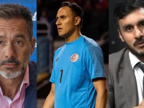 "Fuerte crítica a Gustavo Matosas por ser ""un súbdito de Keylor Navas"""