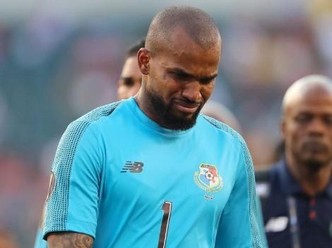 Arquero de Panamá dio la imagen más dolorosa tras eliminación de Copa Oro