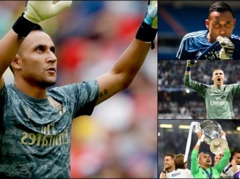 Diario As festeja el quinto aniversario de Keylor Navas en Real Madrid