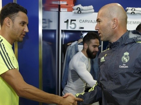 Zidane le dedica mensaje a Keylor y sus seguidores se le van encima