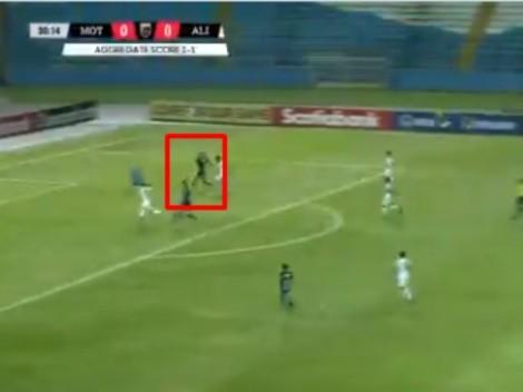 Motagua le está ganando 2-0 al Alianza en los primeros 45 minutos