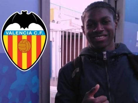 Valencia de España se interesa en joven goleador hondureño