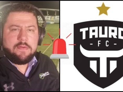 """Tauro veta y declara """"no grato"""" a periodista deportivo Álvaro Martínez"""