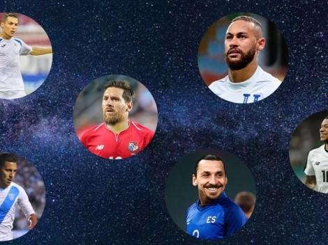 Cómo se verían las estrellas del fútbol mundial si hubieran nacido en Centroamérica