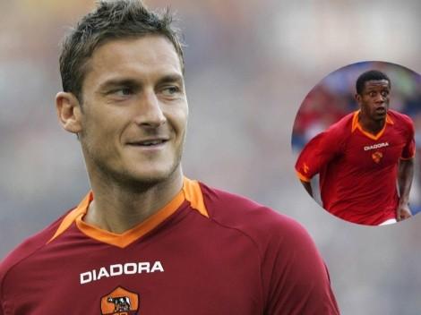 """Anécdota: Francesco Totti, el hombre que """"bautizó"""" a Édgar Álvarez en la Roma"""