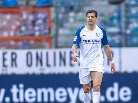 El VfL Bochum de Cristian Gamboa reanudó el fútbol con una victoria