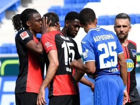 Falcao y Faitelson criticaron a la Bundesliga en su regreso a la actividad