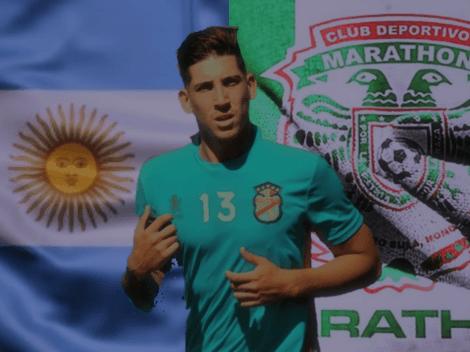 El hijo de un goleador argentino está cerca de llegar a Marathón