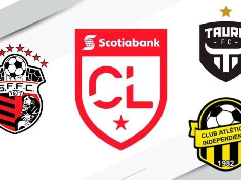 Liga Concacaf 2020: definidos los rivales de San Francisco, Tauro e Independiente