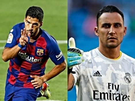 La despedida de Suárez y Keylor en sus clubes