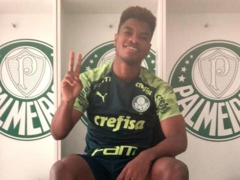Newton Williams firma con el Palmeiras de Brasil