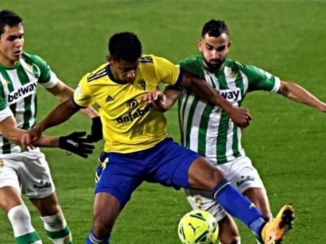 EN VIVO: Cádiz vs. Betis