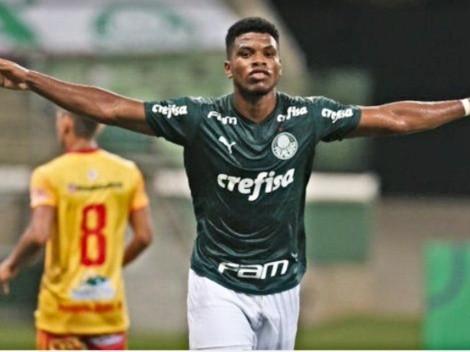 Newton Williams: hat-trick y debut con Palmeiras