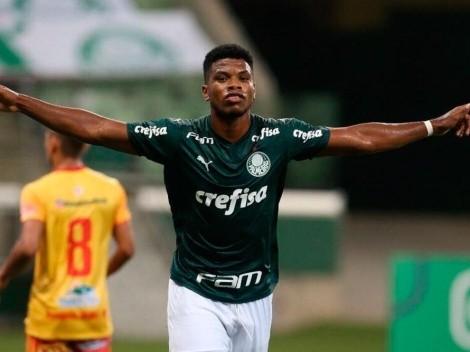 Palmeiras inscribe a Newton Williams para el Campeonato Paulista