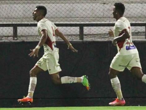 Gordillo se estrena como goleador en Perú