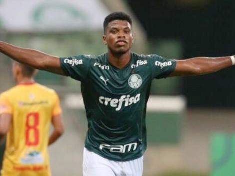 Newton Williams marca su primer gol con Palmeiras [VIDEO]