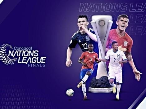 Nuevo trofeo de la Liga de Naciones de la Concacaf