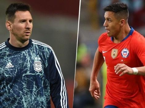 Argentina vs. Chile: cómo ver en Centroamérica