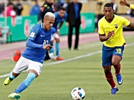 Todos los detalles: Brasil vs Ecuador