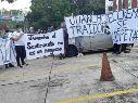 Aficionados de Comunicaciones se manifiestan para pedir la renuncia de Tapia