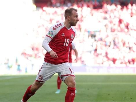 Christian Eriksen se desvanece durante partido entre Dinamarca y Finlandia