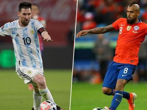 Argentina vs. Chile: cuándo, dónde y por qué canal ver el partido por la primera fecha del Grupo A de la Copa América en Centroamérica