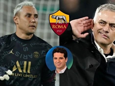 "Andrés Agulla: ""Tiene mucho sentido Keylor a la Roma"""