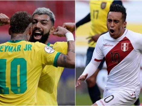 Todos los detalles de Brasil vs Perú