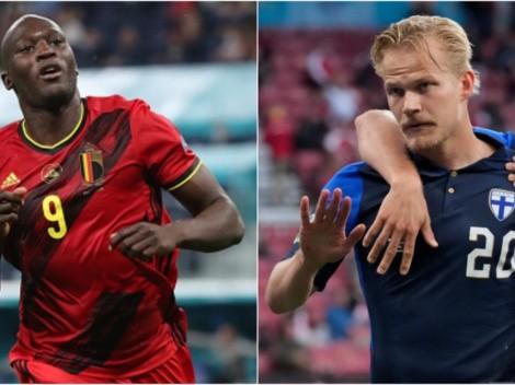 Todos los detalles de Bélgica vs Finlandia