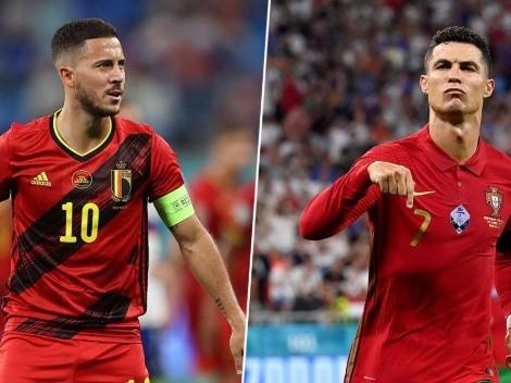 Bélgica vs. Portugal: cuándo, dónde y por qué canal ver el partido por los octavos de final de la Eurocopa 2020 en Centroamérica