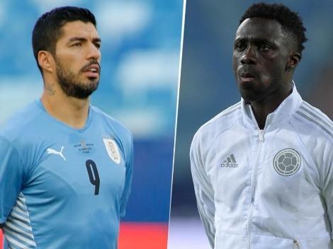 Uruguay vs. Colombia: cuándo, dónde y por qué canal ver el partido por los cuartos de final de la Copa América 2021 en Centroamérica