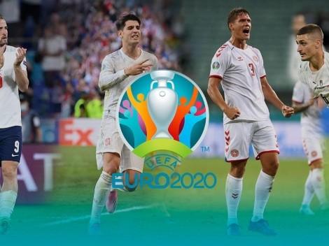 Cómo quedaron los cruces de los cuartos de final de la Eurocopa 2020