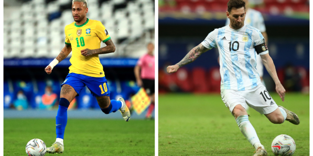 Brasil vs. Argentina: ver aquí EN VIVO y EN DIRECTO el partido de hoy por la final de la Copa América 2021