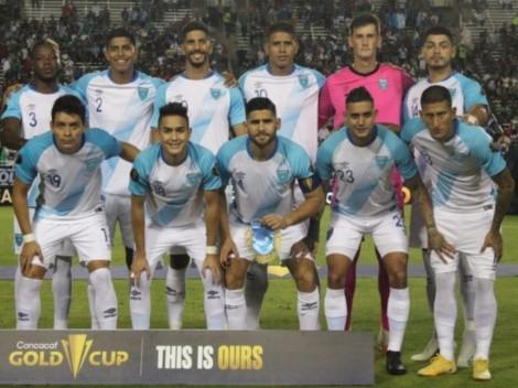 El once de Guatemala para enfrentar a Trinidad y Tobago