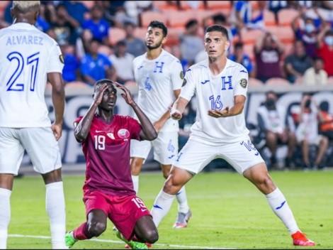 Honduras cae 2-0 ante Catar y jugará contra México [VIDEO]