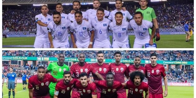 El Salvador vs. Qatar: ver aquí EN VIVO y EN DIRECTO el juego de hoy por los cuartos de final de la Copa Oro 2021