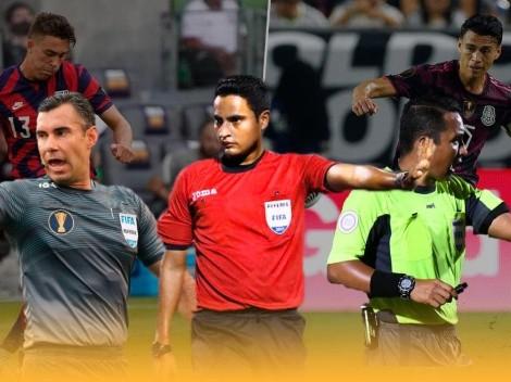 Terna centroamericana dirigirá la final de la Copa Oro