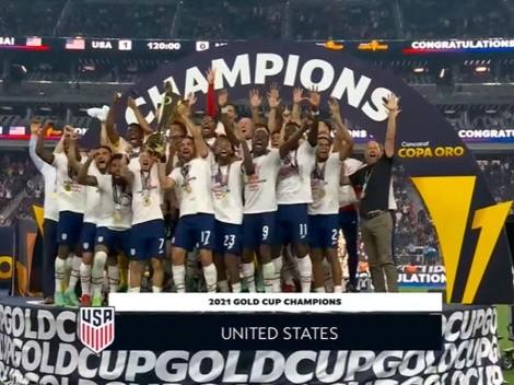 ¡Estados Unidos es el campeón!