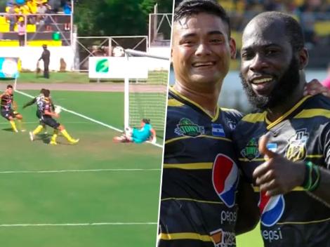 Once Deportivo logra empatar con un escandaloso [VIDEO]