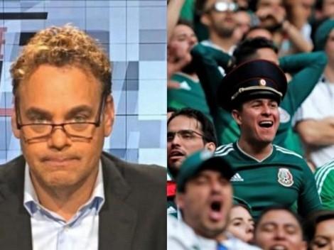 ¡David Faitelson explotó en contra de la afición mexicana!