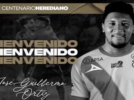 José Guillermo Ortiz regresa a Herediano