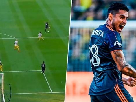 Ronald Matarrita marca uno de los mejores goles de su carrera [VIDEO]