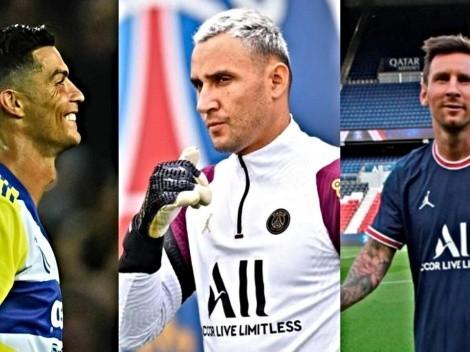 Oficial: Keylor Navas único arquero en jugar con Cristiano y Messi