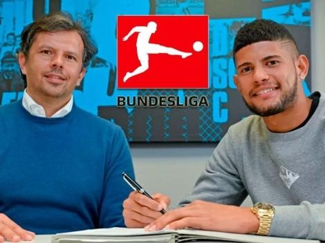 Andrés Andrade llega a la Bundesliga